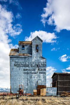 Grain Elevator in Wilsall, Montana