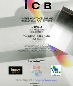 You're invited... RSVP: RoamRSVP@BettieBombPR.com