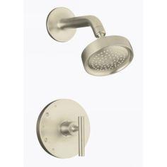 Kohler K-T14422-4-BN Purist Vibrant Brushed Nickel One Handle Shower Only Faucets |eFaucets.com