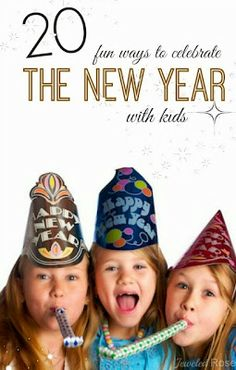 Sassy Style: 85 New Years Eve Ideas for Kids