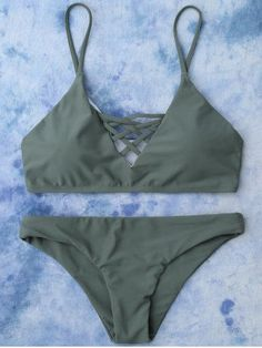 GET $50 NOW | Join RoseGal: Get YOUR $50 NOW!http://m.rosegal.com/bikinis/lace-up-cami-bikini-964827.html?seid=8010175rg964827