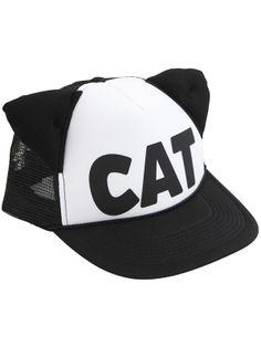 Mesh 'Cat' Hat