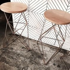 These stools 🙌🏼