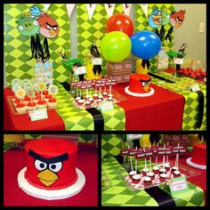 Angry Bird Party Inspiration Via Catch My