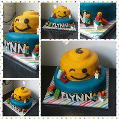 Lego taart flynn 6 jaar