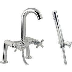 Manila Bath Shower Mixer - Bathroom Taps & Mixers - Baths -Bathrooms - Wickes