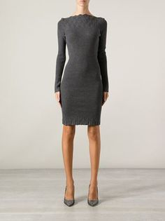 Jean Paul Gaultier Knitted Dress - Francis Ferent - Farfetch.com