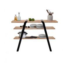 Pi 13, console éco design en bois, meuble écologique made in France, Moaroom, Roderick Fry.