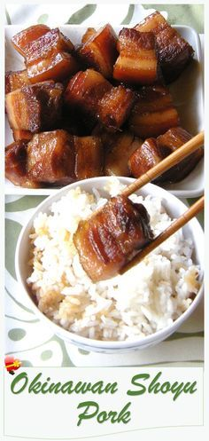 Delicious local style Okinawan shoyu pork recipe. Great as a side dish. See more island favorites here.