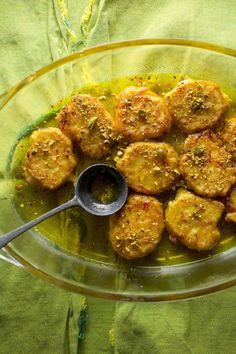 Ricotta Pancakes in Cardamom Syrup (Malpura)