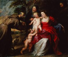 Peter Paul Rubens: The Holy Family with Saints Francis and Anne and the Infant Saint John the Baptist (02.24)   Heilbrunn Timeline of Art History   The Metropolitan Museum of Art