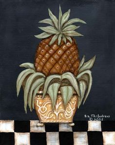 Still Life Pineapple