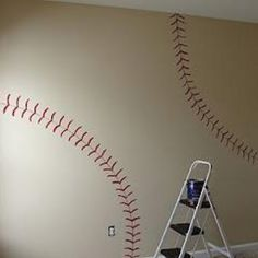 Love this idea for boys room! Thinking about this for Damon and Lleyton's room.