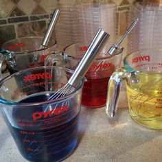 Pouring lots of fun scents and colors today. I don't know what exactly my house smells like but it's amazing!