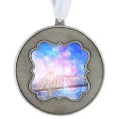 When I Look to the Sky Pewter Ornament