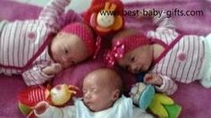 poem for triplet babies:                  30 little fingers and 30 little toes -  plenty of work, heaven knows! 3 beautiful babies to our delight,  6 little cheeks to kiss goodnight!