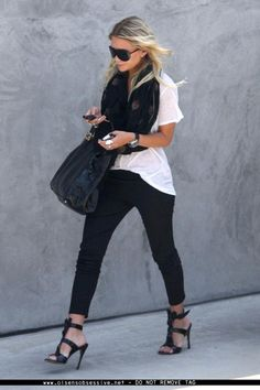 ashley olsen street chic