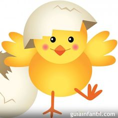 Illustration about Scalable vectorial image representing a chick leaving cracked egg, isolated on white. Illustration of clip, loop, graphic - 36959607