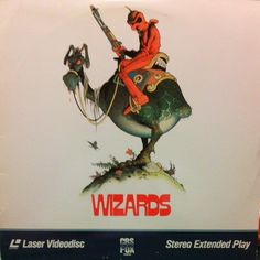 Wizards #RalphBakshi #animation #LD #Laserdisc #cover