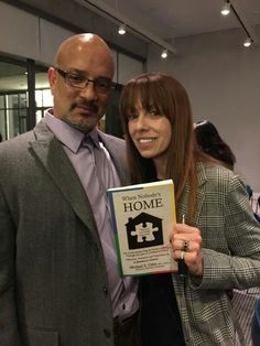 MacKenzie Phillips gracefully accepted a copy of When Nobody's Home.
