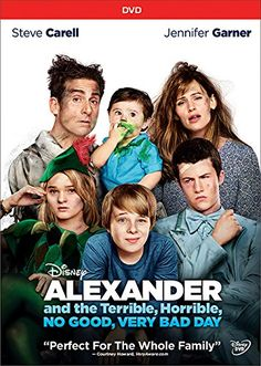 "@shastaspivey shares thoughts on Alexander and the Terrible, Horrible, No Good, Very Bad Day - ""This movie was perfectly cast. Steve Carell plays a loving and silly SAHD, but still remains true to what you would expect the role of a father to be. Jennifer Garner plays a stressed and loving mom. I found myself relating to her on many levels. The kids...well they play kids well, and the story line though full of some extraordinarily bad situations are nothing that families haven't faced…"