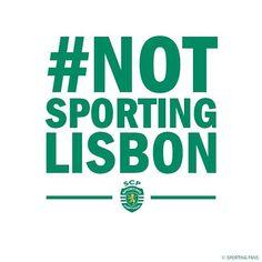 Sporting Clube de Portugal! #NotSportingLisbon #AvelinoMatos