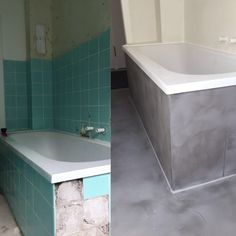 Bathroom & Wellness Area # Seamless A Look at Metal Coffee Table Next, Farmhouse Renovation, Diy Home Decor On A Budget, Bathroom Renovations, Interior Design Living Room, Home And Living, Bude, Girl Hairstyles, Bungalow