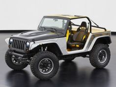 Jeep Wrangler Stitch Concept (JK) '03.2013