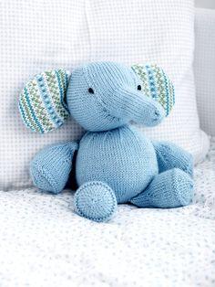 Toy Elephant   Yarn   Knitting Patterns   Crochet Patterns   Yarnspirations