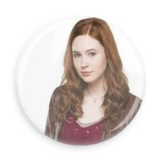Doctor Who Companion Amy Pond 3.0 Inch Pin Back Button @ niftywarehouse.com #NiftyWarehouse #DoctorWho #DrWho #Whovians #SciFi #ScienceFiction #BBC #Show #TV