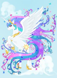 My Little Celestia by drmambo199.deviantart.com on @deviantART