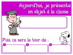 Présenter quelque chose à la classe - Chez Lutin Bazar Language Activities, Kindergarten Activities, Preschool, Core French, French Class, French Teacher, Teaching French, Montessori, Back To School