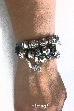 #PANDORAsummercontest Cotton and leather cord  #PANDORAbracelet #PANDORAcharm #Mystyle #Myjewelry