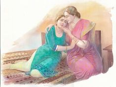 Pictures To Draw, Drawing Pictures, Indian Art Paintings, Female Art, Art Drawings, Fictional Characters, Beauty, Woman Art, Fantasy Characters