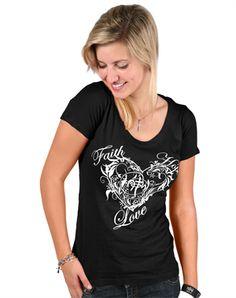 FHL Swirl - Christian Womens Shirts for $19.99   notw.com