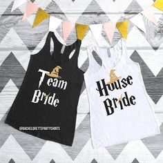 House Bride Tank Top Bachelorette Shirt Maid of Honor