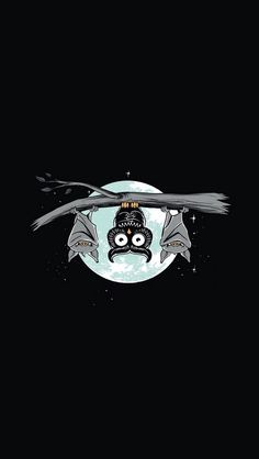 Night Owl - cute funny iPhone wallpaper @mobile9
