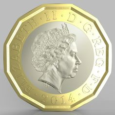 UK's Royal Mint reveals 12-sided £1 coin---it *almost* looks like the Canadian Loonie!!!!