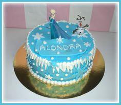 Virginias Cake: Tarta Frozen Alondra