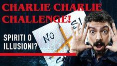 Sì possono evocare spiriti e demoni con due matite e un foglio di carta nella #CharlieCharlieChallenge? Lo scopriamo a #StraneStorie. Guarda: