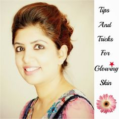 Taking a good care of skin do not require extensive dedication and long hours in salon , simple home based tips and tricks works wonder and in turn we get glowing skin.So what are we waiting for , let's get started with Tips And Tricks To Get Glowing Skin.  http://www.spiceupboringlife.com/2013/12/diy-beauty-tips-and-tricks-for-glowing.html