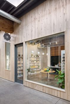 Spruced Up: A New Apothecary in Portland, Oregon - Remodelista Spruced Up: A New Apothecary in Portland, Oregon from the Craig Olson and Sean Igo of Canoe Café Restaurant, Restaurant Design, Pharmacy Design, Retail Design, Retail Interior, Cafe Interior, Interior Design, Cafe Design, Store Design