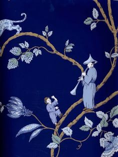 Chinoiserie Chic: – The Top Ten Chinoiserie Trends for 2014 – Toile Chinoiserie Wallpaper, Chinoiserie Chic, Fabric Wallpaper, Wall Wallpaper, Pattern Wallpaper, Chinoiserie Fabric, Wallpaper Direct, Bedroom Wallpaper, Wallpaper Ideas