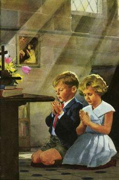 The Lords Prayer -- Praying -- High quality art prints, framed prints, canvases -- Ladybird Prints