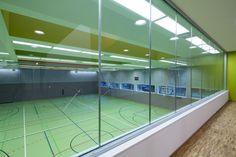 Sprach und Bewegungszentrum / eins:eins architekten Grimm, Sport Hall, Indoor, Architecture, Building, Sports, Kindergarten, Website, City