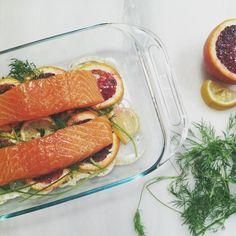Slow-roasted salmon from @elizabeth_boyette: http://instagram.com/p/ksv3HAmWDQ/ #Food52 #F52grams