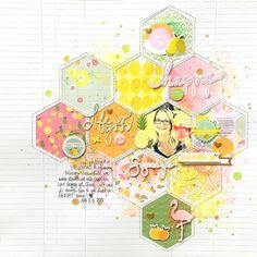 A blog to get inspired by using scrapbook sketches.