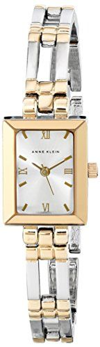 Anne Klein Womens 104899SVTT TwoTone Dress Watch *** Click image to review more details.