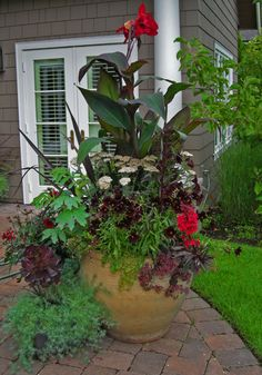 Patio Flower Pots And Planters