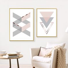 Abstract Geometric Pink Home Letters Wall Art Canvas Painting Picture Gallery Posters and Prints Living Room Interior Home Decor Letter Wall Art, Framed Wall Art, Wall Art Decor, Canvas Wall Art, Canvas Prints, Geometric Wall Art, Abstract Wall Art, Wall Art Pictures, Pictures To Paint